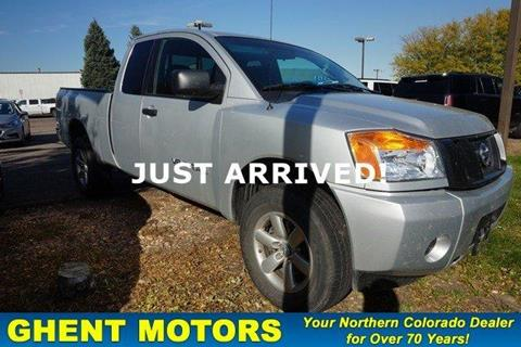 2015 Nissan Titan for sale in Greeley, CO