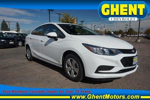 2018 Chevrolet Cruze for sale in Greeley, CO