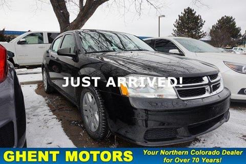 Used dodge avenger for sale in colorado for Ghent motors in greeley co