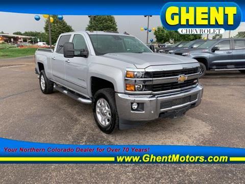 Diesel Trucks For Sale Colorado >> 2015 Chevrolet Silverado 2500hd For Sale In Greeley Co