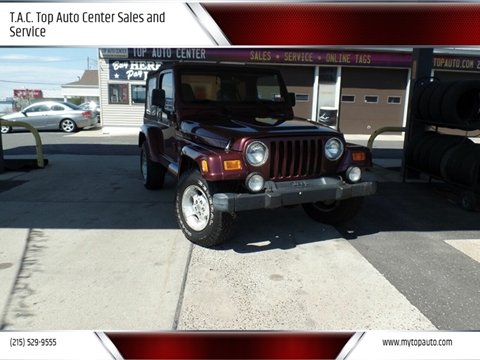 2001 Jeep Wrangler for sale in Quakertown, PA