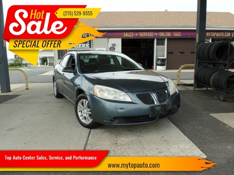 2006 Pontiac G6 for sale in Quakertown, PA