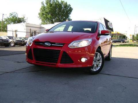 2012 Ford Focus for sale at Nationwide Auto Sales in Melvindale MI
