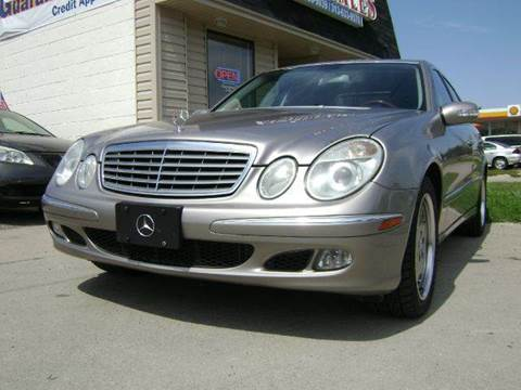 2005 Mercedes-Benz E-Class for sale at Nationwide Auto Sales in Melvindale MI