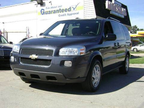 2008 Chevrolet Uplander for sale at Nationwide Auto Sales in Melvindale MI
