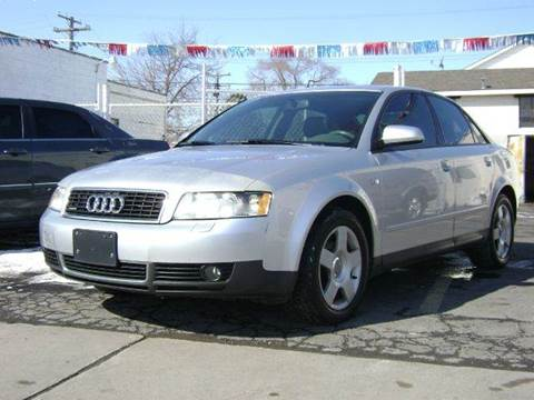 2003 Audi A4 for sale at Nationwide Auto Sales in Melvindale MI