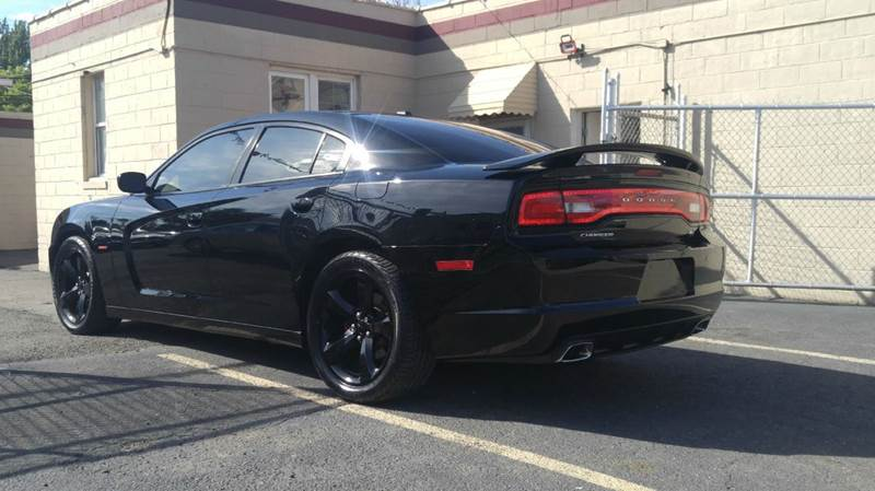 2014 Dodge Charger Rt 4dr Sedan Blacktop Edition In