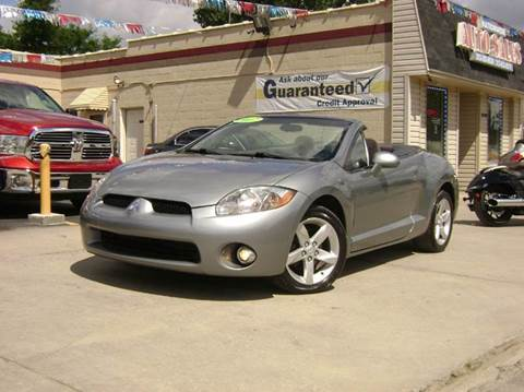 2007 Mitsubishi Eclipse Spyder for sale at Nationwide Auto Sales in Melvindale MI