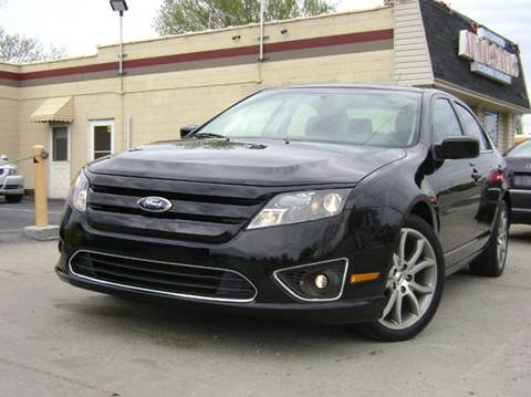 2012 Ford Fusion for sale at Nationwide Auto Sales in Melvindale MI
