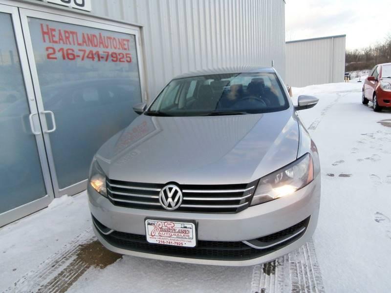 2012 Volkswagen Passat Se Pzev 4dr Sedan 6a In Medina Oh Heartland