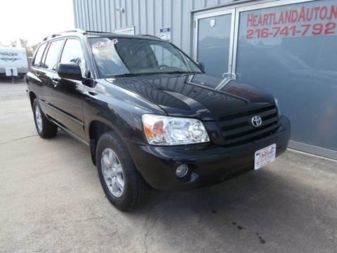 2007 Toyota Highlander for sale in Medina, OH