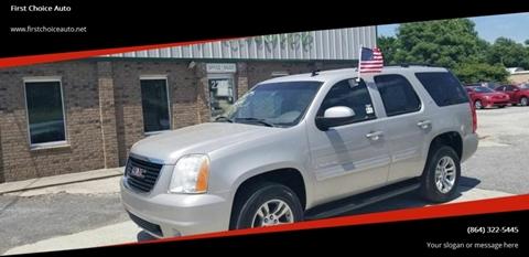 2008 GMC Yukon for sale in Greenville, SC
