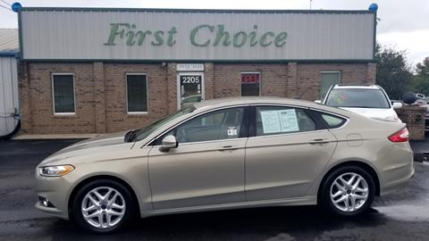 2015 Ford Fusion for sale at First Choice Auto in Greenville SC