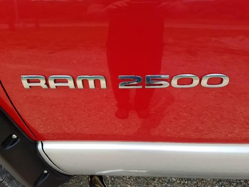 2003 Dodge Ram Pickup 2500 4dr Quad Cab SLT 4WD SB - Logan OH