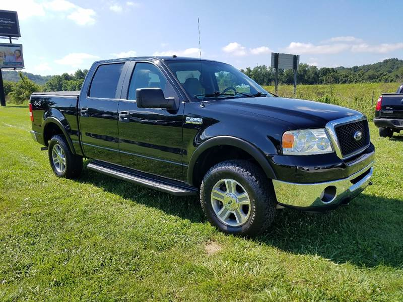 2007 Ford F-150 XLT 4dr SuperCrew 4WD Styleside 5.5 ft. SB - Logan OH