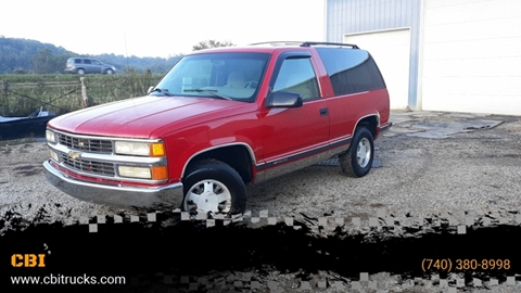 1996 Chevrolet Tahoe for sale in Logan, OH