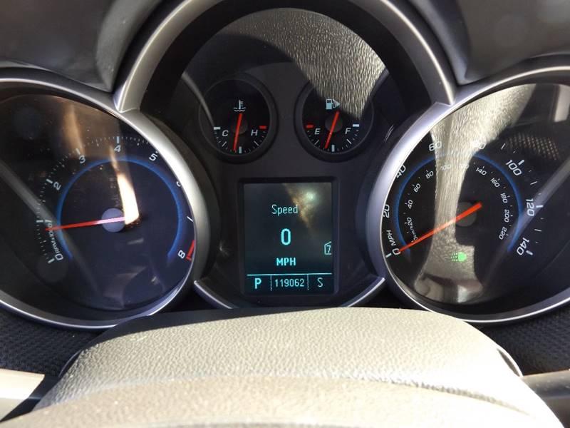 2011 Chevrolet Cruze LT 4dr Sedan w/2LT - Ham Lake MN