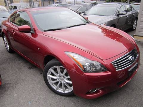 2014 Infiniti Q60 Coupe for sale in Long Island City, NY