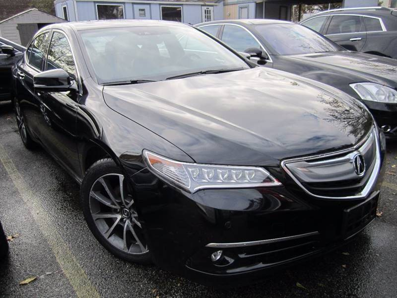 Acura Tlx SHAWD V Dr Sedan WAdvance Package In Long - Acura dealers on long island