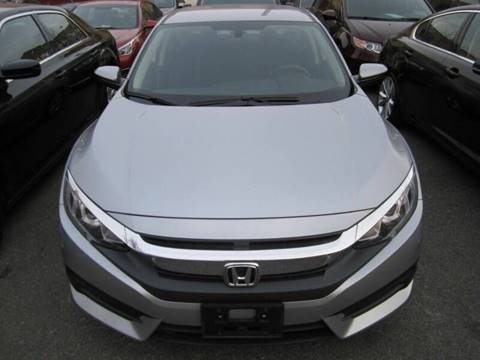 2018 Honda Civic for sale at LUXURY OF QUEENS,INC in Long Island City NY