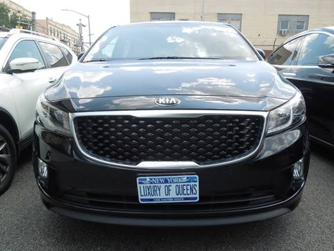 2017 Kia Sedona for sale at LUXURY OF QUEENS,INC in Long Island City NY