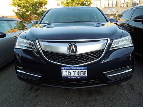 2016 Acura MDX for sale in Long Island City, NY