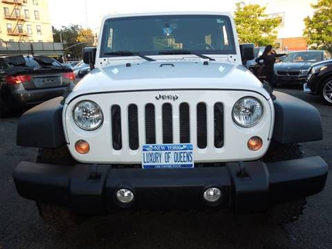 2014 Jeep Wrangler Unlimited for sale in Long Island City, NY
