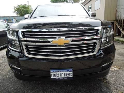 2016 Chevrolet Suburban for sale at LUXURY OF QUEENS,INC in Long Island City NY
