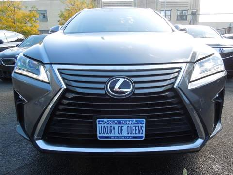 2016 Lexus RX 350 for sale at LUXURY OF QUEENS,INC in Long Island City NY