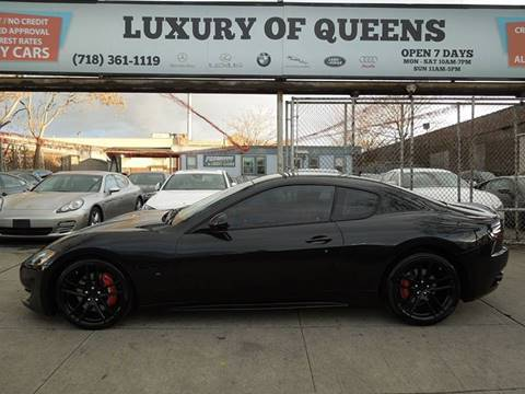 2015 Maserati GranTurismo for sale at LUXURY OF QUEENS,INC in Long Island City NY