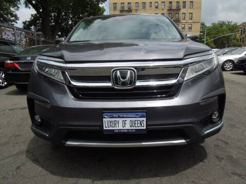 2019 Honda Pilot for sale at LUXURY OF QUEENS,INC in Long Island City NY