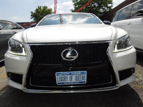 2015 Lexus LS 460 for sale at LUXURY OF QUEENS,INC in Long Island City NY