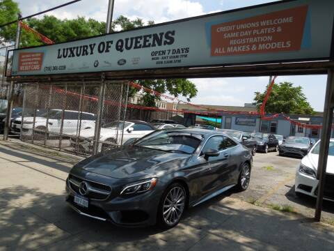2016 Mercedes-Benz S-Class for sale at LUXURY OF QUEENS,INC in Long Island City NY