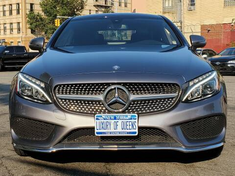 2017 Mercedes-Benz C-Class for sale at LUXURY OF QUEENS,INC in Long Island City NY