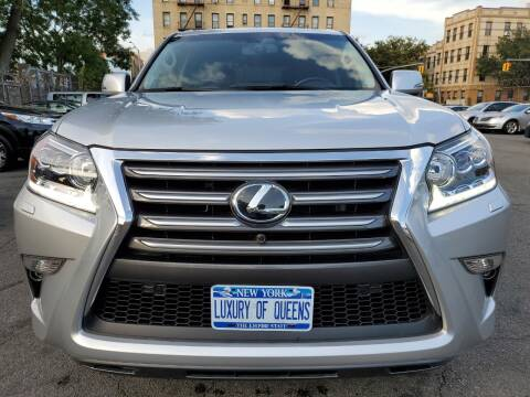 2016 Lexus GX 460 for sale at LUXURY OF QUEENS,INC in Long Island City NY