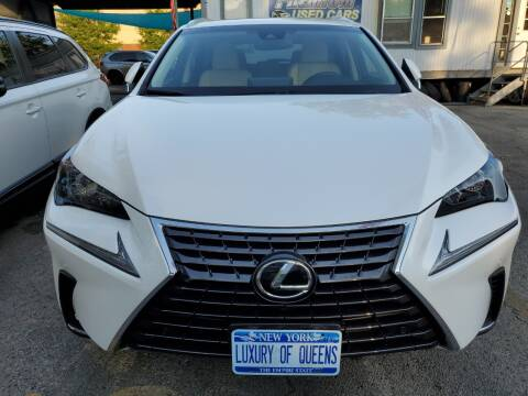 2018 Lexus NX 300 for sale at LUXURY OF QUEENS,INC in Long Island City NY