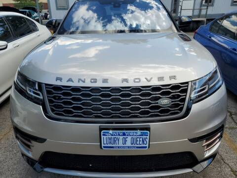 2018 Land Rover Range Rover Velar for sale at LUXURY OF QUEENS,INC in Long Island City NY