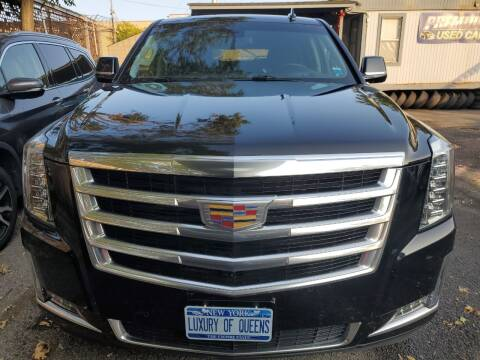 2017 Cadillac Escalade ESV for sale at LUXURY OF QUEENS,INC in Long Island City NY