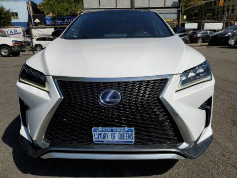 2017 Lexus RX 450h for sale at LUXURY OF QUEENS,INC in Long Island City NY