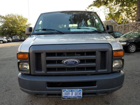 2014 Ford E-Series Wagon for sale at LUXURY OF QUEENS,INC in Long Island City NY