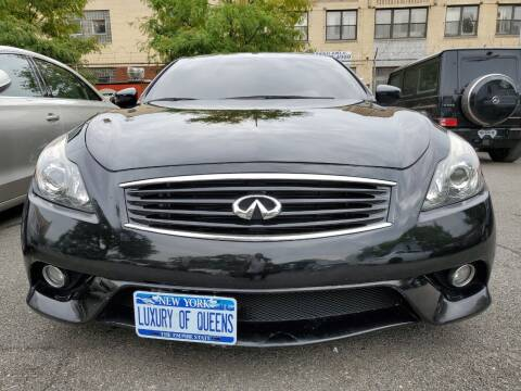 2014 Infiniti Q60 Coupe for sale at LUXURY OF QUEENS,INC in Long Island City NY