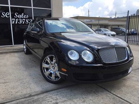 2007 Bentley Continental Flying Spur for sale in Houston, TX
