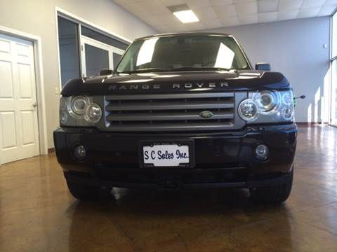 2006 Land Rover Range Rover for sale at SC SALES INC in Houston TX