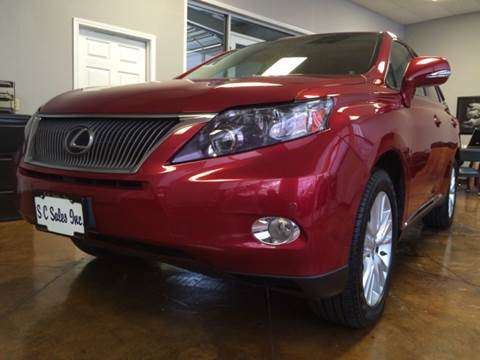 2010 Lexus RX 450h for sale at SC SALES INC in Houston TX