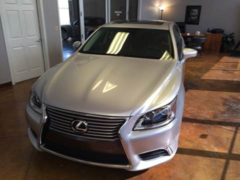 2013 Lexus LS 460 for sale at SC SALES INC in Houston TX