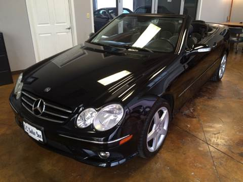 2007 Mercedes-Benz CLK for sale at SC SALES INC in Houston TX