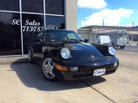 1990 Porsche 911 for sale at SC SALES INC in Houston TX