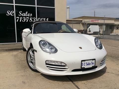 2010 Porsche Boxster for sale in Houston, TX