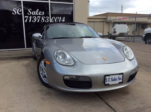 2008 Porsche Boxster for sale in Houston, TX
