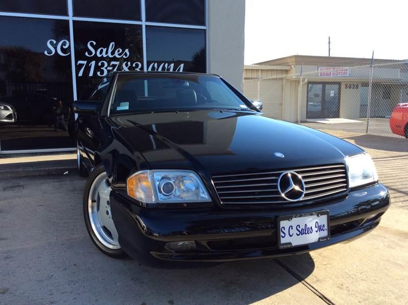 1997 Mercedes-Benz SL-Class for sale at SC SALES INC in Houston TX